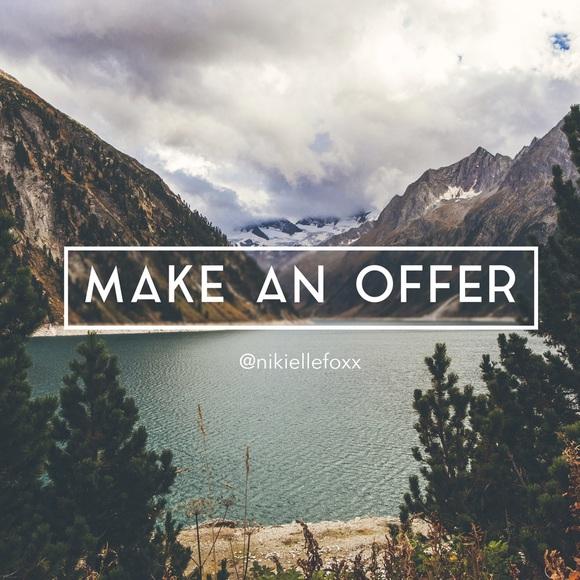 Make an offer Poshmark friends! ️ from Nikielle's closet ... - photo#32