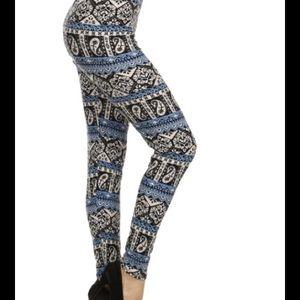 SALEsoft BOHO print leggings