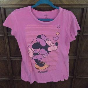 Mickey and Minnie Mouse Disneyland Tee