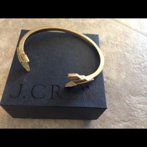 J.Crew double arrows cuff bracelet