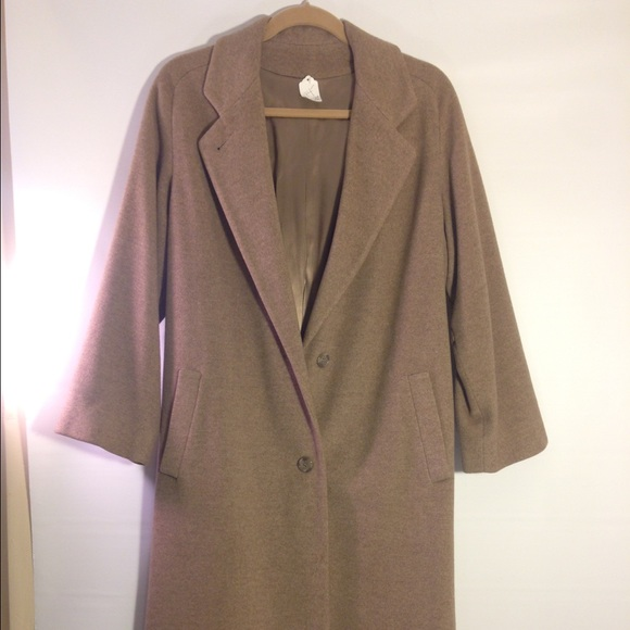 Regency Cashmere - Vintage Cashmere Saks coat from Stephanie's ...