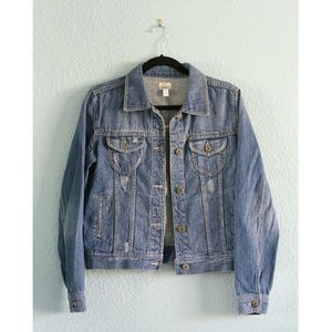 Mudd | NWOT Distressed Denim Jacket