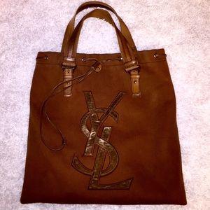 40% off Yves Saint Laurent Handbags - YSL leopard print Calf hair ...