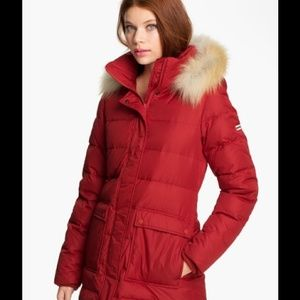 Hunter Red Down Jacket