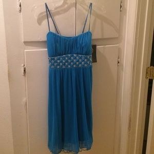 Ruby Rox Dresses & Skirts - Ruby Rox Blue Dress in Size Medium