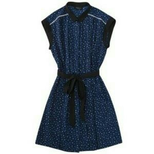 NWT Jason Wu for Target Navy Dot Shirtdress