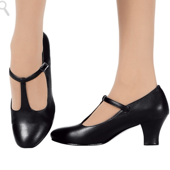 new style special sales quality products Bloch tan character heels NWT
