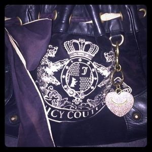 Juicy couture day dreamer bag. White and black
