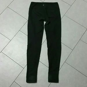 Lululemon Black Denim Leggings