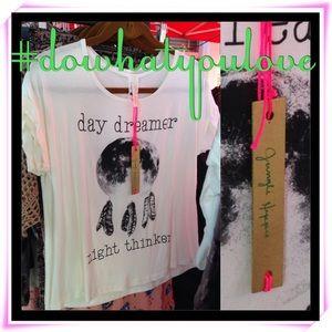 Tops - Day Dreamer Night Thinker tshirt M L NWT
