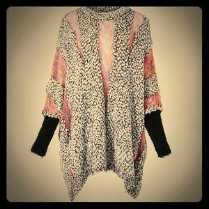 Sweaters - Poncho NWT so cozy