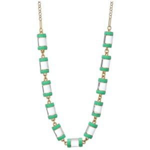 Kate spade green statement necklace NWT