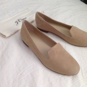 J.Crew suede loafers