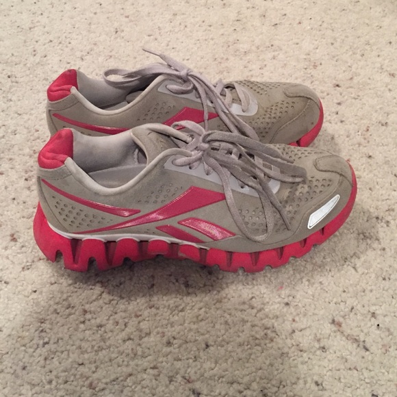 reebok grey and pink shoes, OFF 72%,Buy!