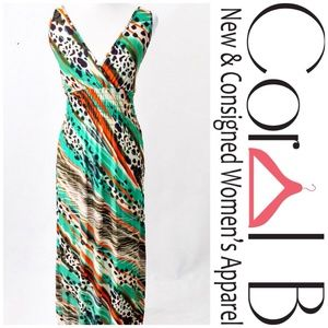 Dresses & Skirts - Animal Print Maxi Dress
