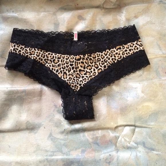 0e460ca345 Victoria s Secret pink cheetah panty
