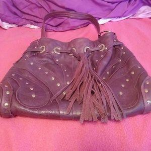 Bulga  Handbags - Authentic Purple Bulga Butterfly Handbag