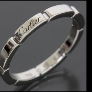 Authentic CARTIER 18K Band ring