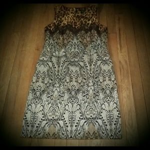Ann Taylor Animal Print Dress
