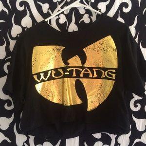 Wu tang cropped t shirt