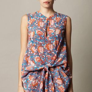 Carven Dresses & Skirts - 💋HP 5/19 💋 Carven Flower Print Dress w/ Bow