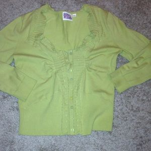 Light green anthropologie sweater