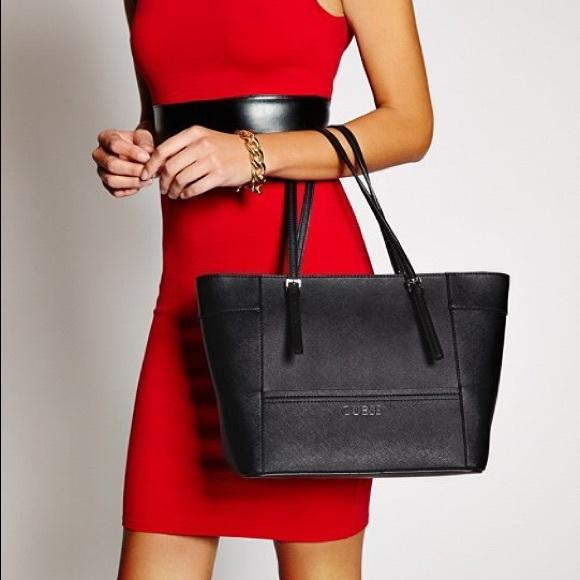 e90eadf688 Guess Handbags - Authentic Guess black tote