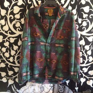 Vintage western flannel