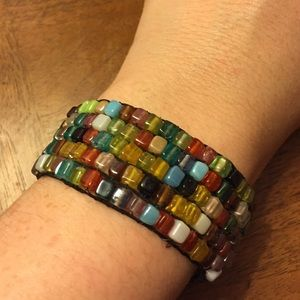 Jewelry - Beaded elastic bracelet