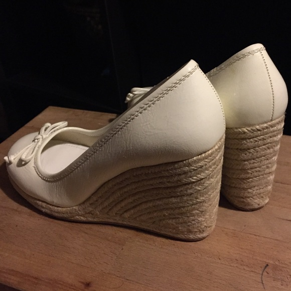 85 coach shoes coach white wedges from s