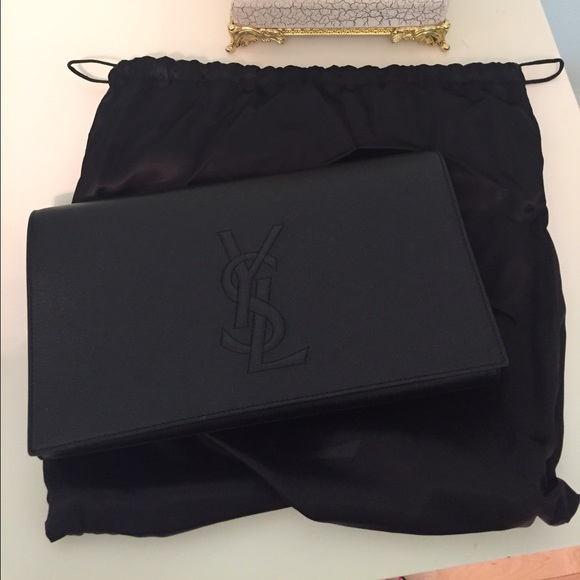 1e3e8751518 Yves Saint Laurent Bags | Belle De Jour Large Clutch | Poshmark