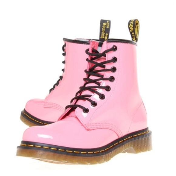 63% off Dr. Martens Shoes - *RARE* Dr. Martens Pastel Pink Pascal ...
