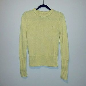 American Eagle Outfitters Sweaters - SOLD -AE Mustard Yellow Crew Neck Sweater - Size M