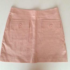 Pink Mini Skirt - From The Hip - Size 2