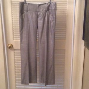 Alice+Olivia Silver pants