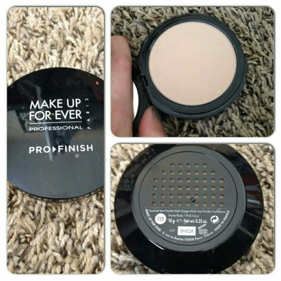 Makeup Forever Other Make Up For Ever Pro Finish Powder In 115