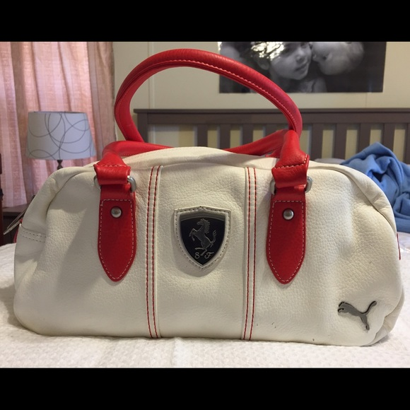 9564d73e9373 This white Ferrari bag was purchased at the PUMA!  M 55007ecd713fde2416008658. Other Bags ...