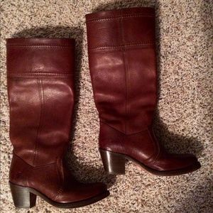 Frye Jane Extended Calf Boot