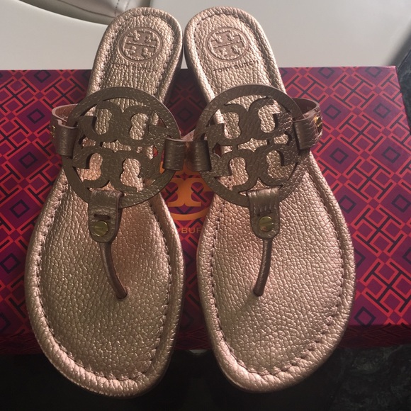 268db7ac2 Rose Gold Tory Burch Miller Slipper