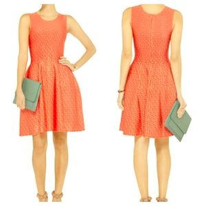 ISSA Dresses & Skirts - SOLD: ISSA Peach & Papaya Print Dress