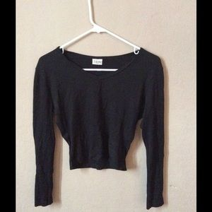 Long Sleeve Cropped Shirt