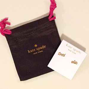 kate spade Jewelry - NWT kate spade tres chic earrings