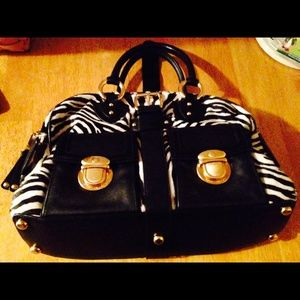 Marc Jacobs Zebra Satchel Bag