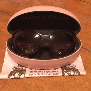 Juicy Couture Accessories - Authentic juicy couture oversized sunglasses