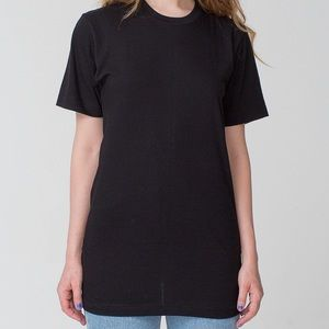 American Apparel Tops - Hold for @tubbylover AA Black Tall Tee