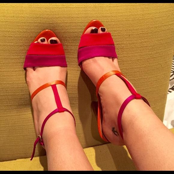8f42419d6e507f Zara Collection Colorful Sandals. M 5500f795c6c795612a00168c