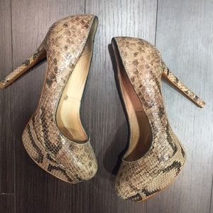 Zara Shoes - Python Print Pumps