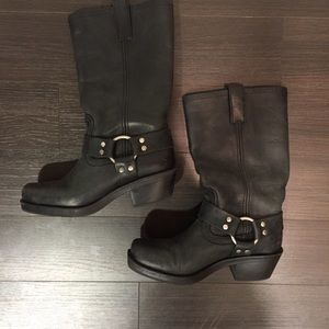 Mossimo Supply Co. Boots - Black Leather Boots