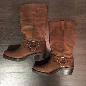 Mossimo Supply Co. Boots - Brown Leather Boots