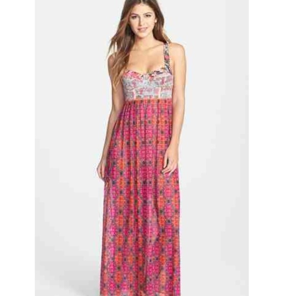 Maaji fancy gallop maxi dress